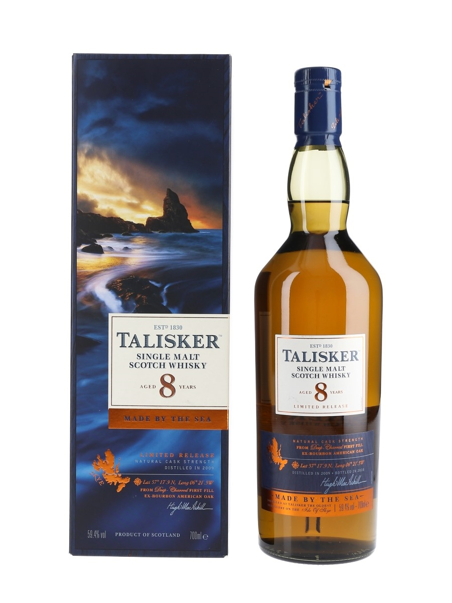 Talisker 2009 8 Year Old Special Releases 2018 70cl / 59.4%