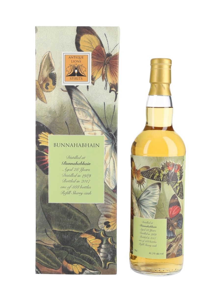 Bunnahabhain 1989 28 Year Old Bottled 2017 - Antique Lions Of Spirits 70cl / 41.3%