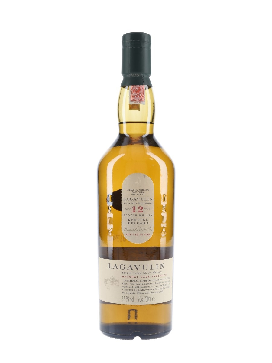 Lagavulin 12 Year Old Natural Cask Strength Special Releases 2003 70cl / 57.8%
