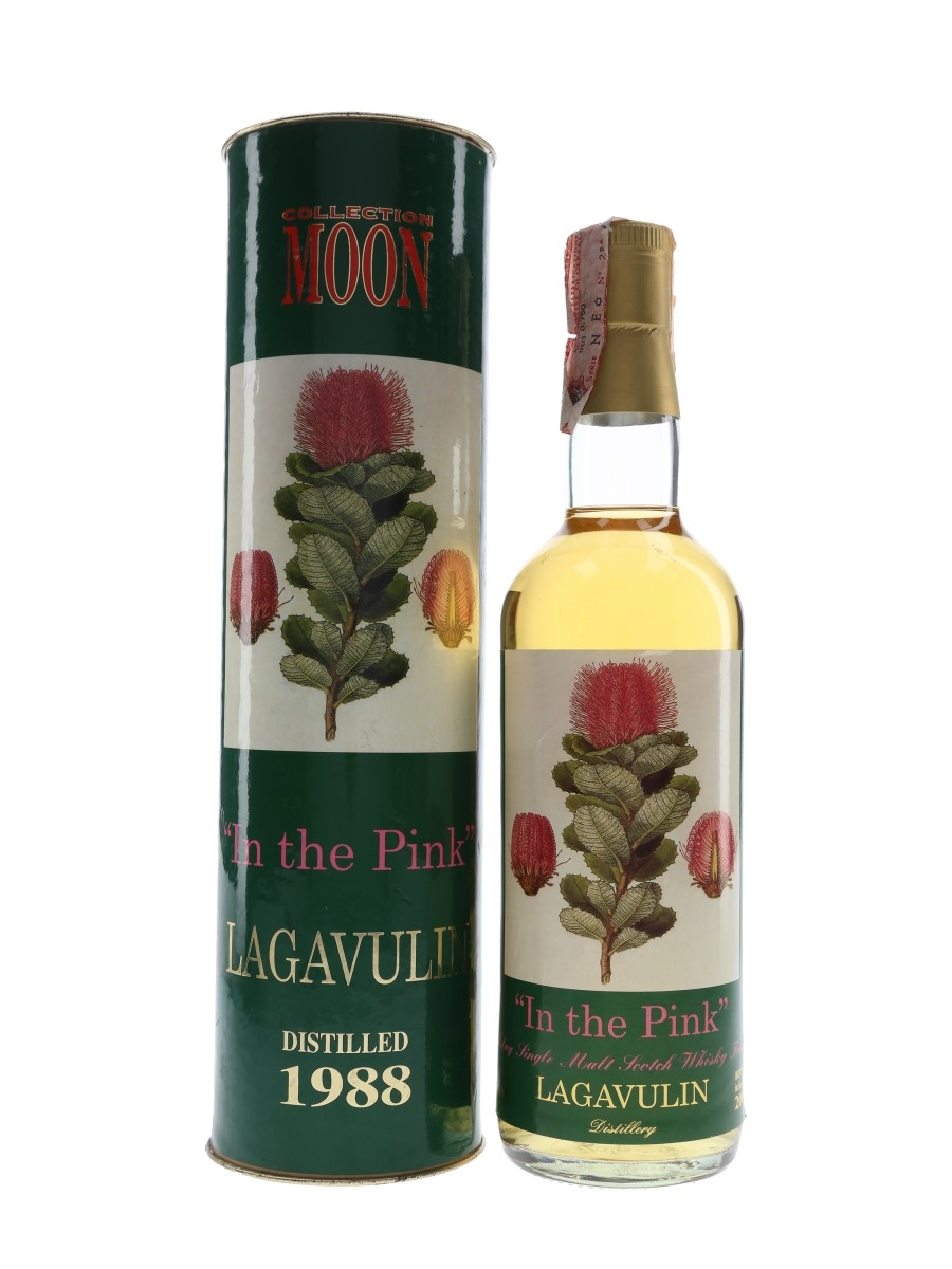Lagavulin 1988 In The Pink Bottled 2000 - Moon Import 70cl / 46%