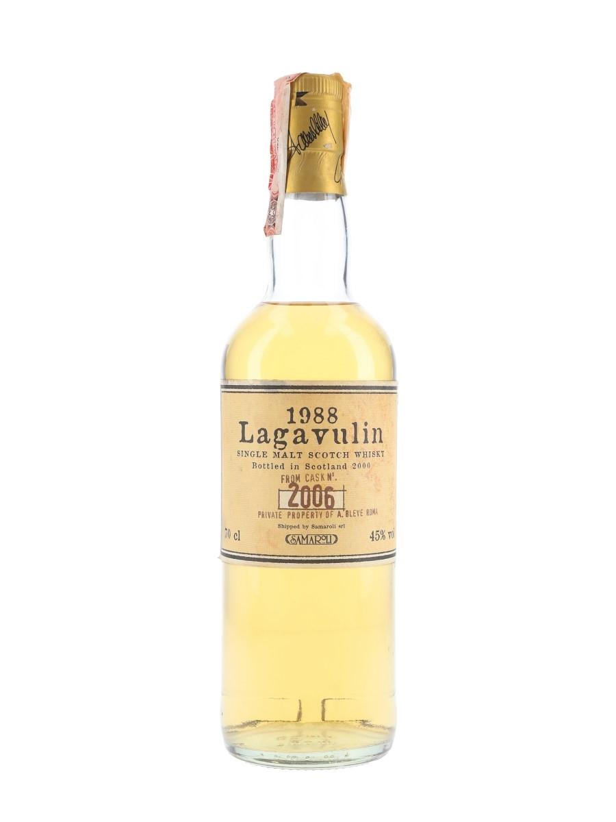 Lagavulin 1988 A.Bleve Bottled 2000 - Samaroli 70cl / 45%