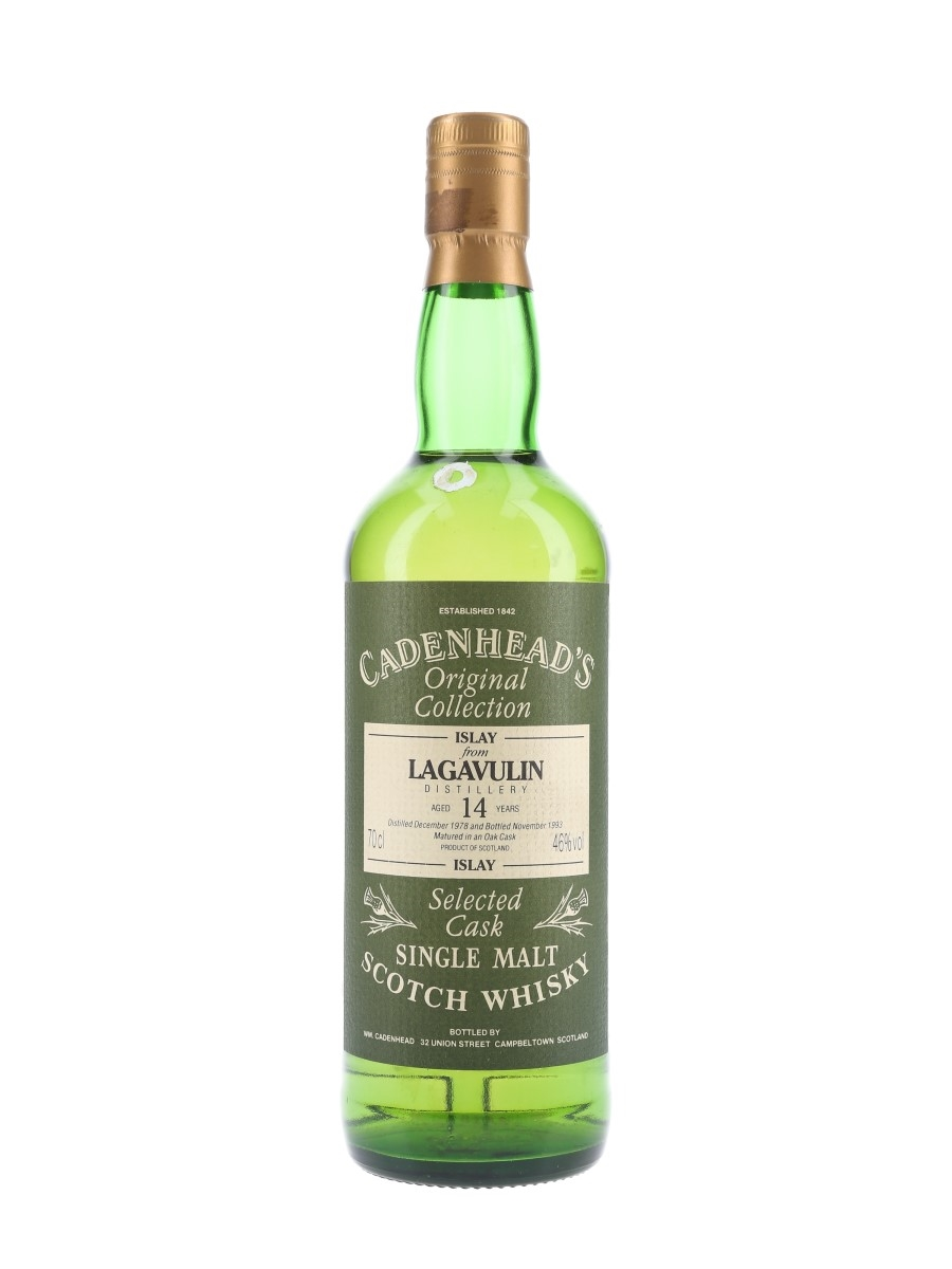 Lagavulin 1978 14 Year Old Bottled 1993 - Cadenhead's 70cl / 46%