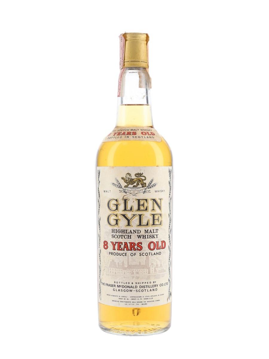 Glen Gyle 8 Year Old Bottled 1970s - Fraser McDonald 75cl / 43%