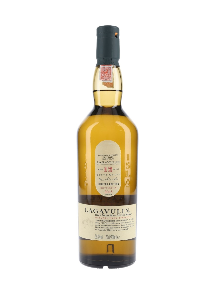 Lagavulin 12 Year Old Natural Cask Strength Special Releases 2015 70cl / 56.8%