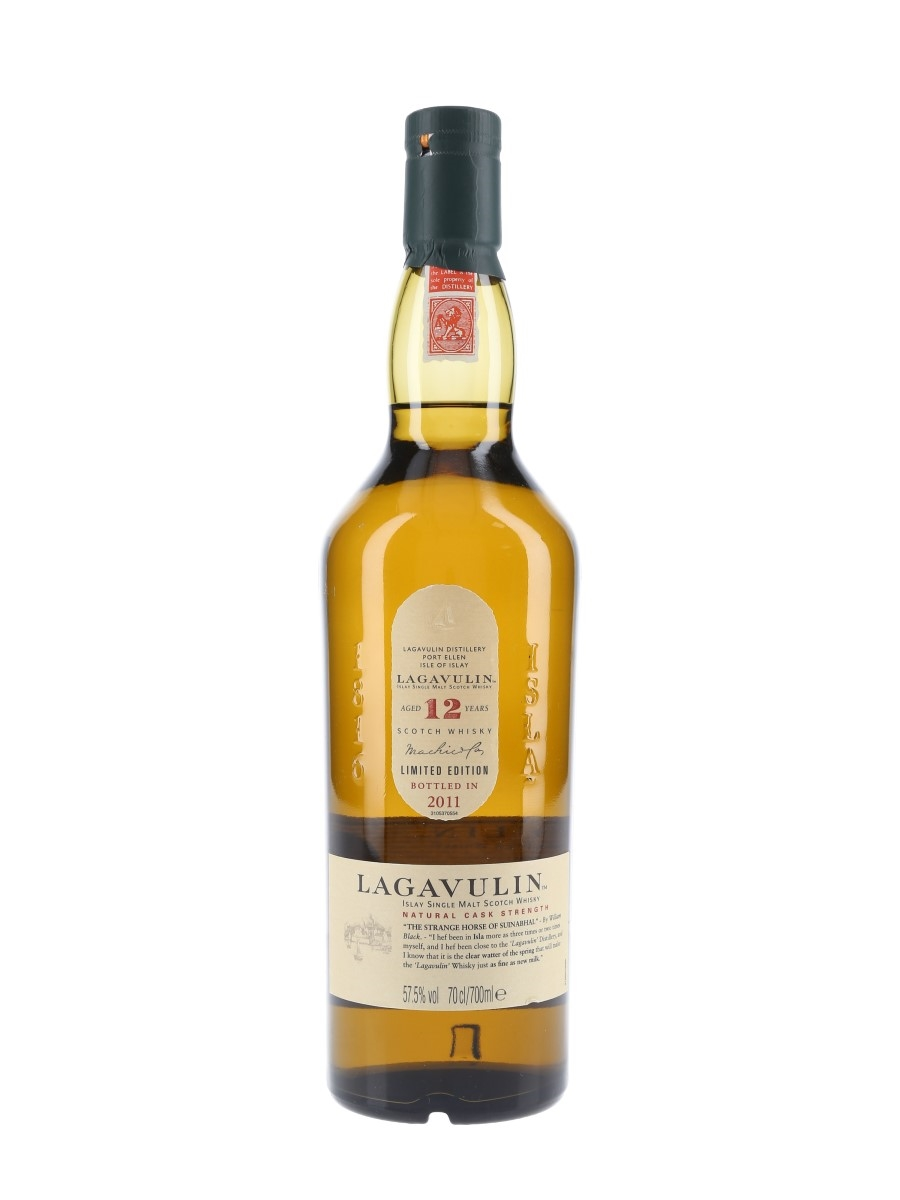 Lagavulin 12 Year Old Natural Cask Strength Special Releases 2011 70cl / 57.5%