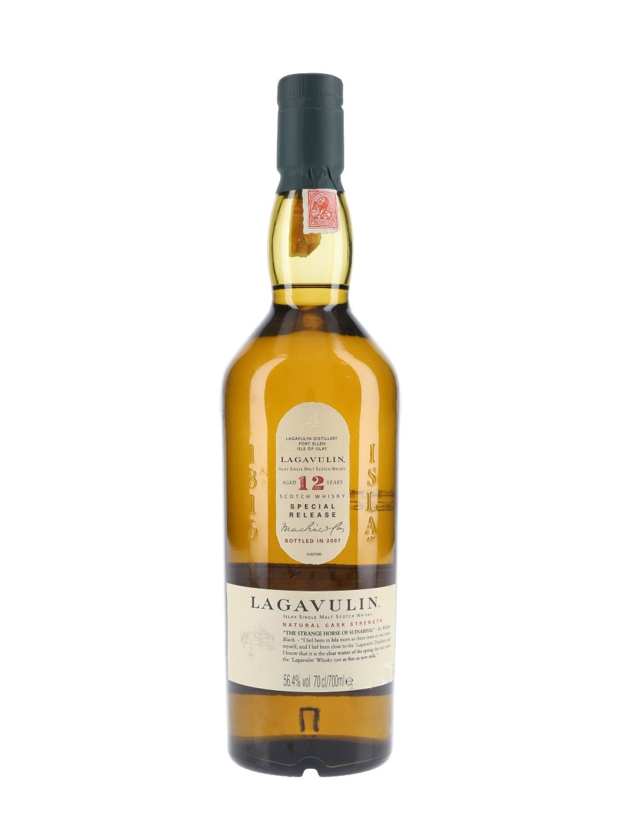 Lagavulin 12 Year Old Natural Cask Strength Special Releases 2007 70cl / 56.4%