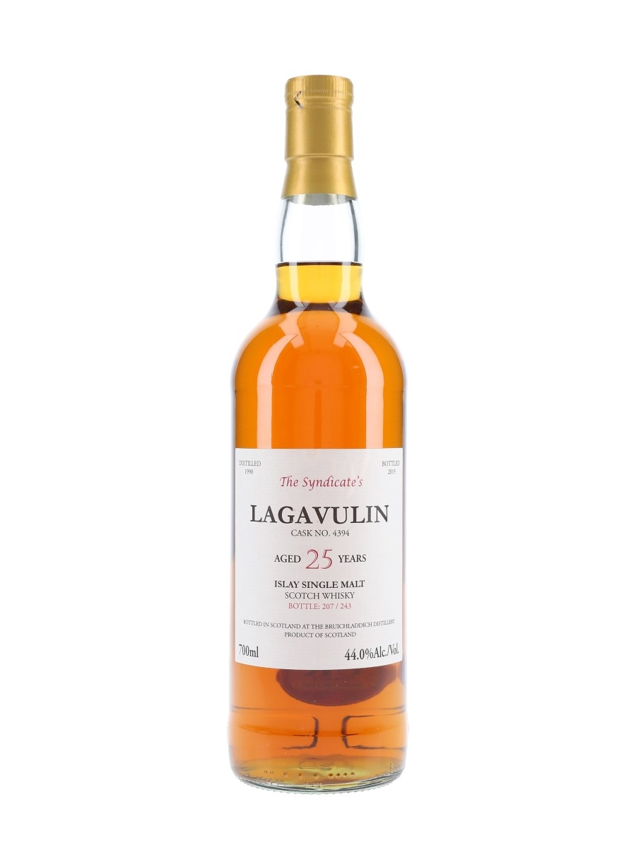 Lagavulin 1990 25 Year Old The Syndicate's Bottled 2015 70cl / 44%