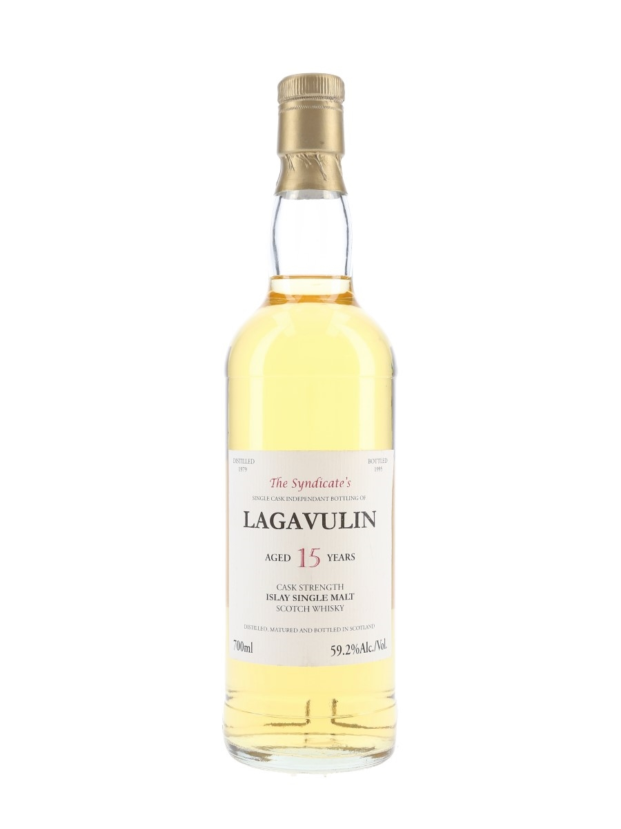 Lagavulin 1979 15 Year Old The Syndicate's Bottled 1995 70cl / 59.2%