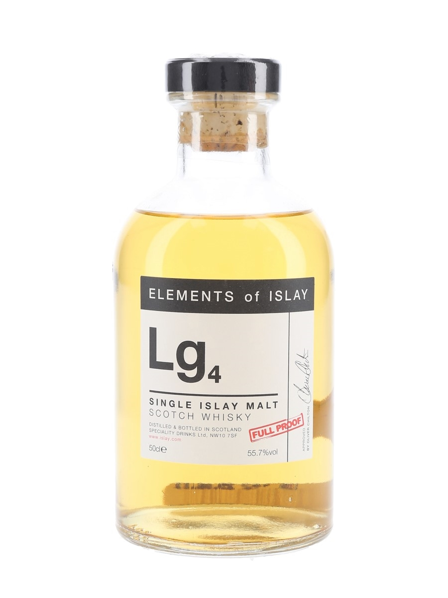 Lg4 Elements Of Islay Speciality Drinks 50cl / 55.7%