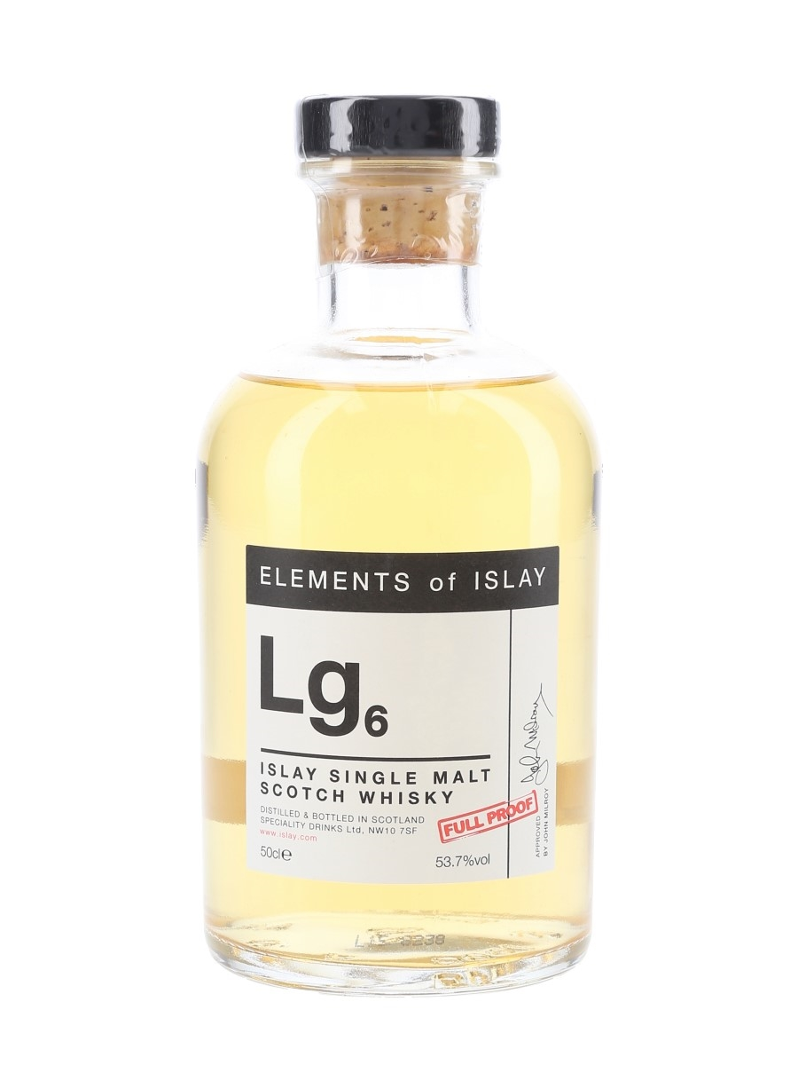 Lg6 Elements Of Islay Speciality Drinks 50cl / 53.7%