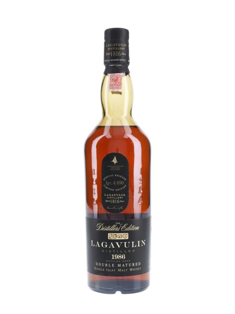 Lagavulin 1986 Distillers Edition Bottled 2002 70cl / 43%