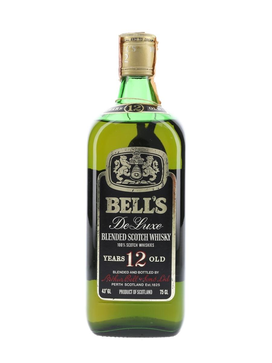 Bell's 12 Year Old De Luxe Bottled 1970s - Ghirlanda 75cl / 43%