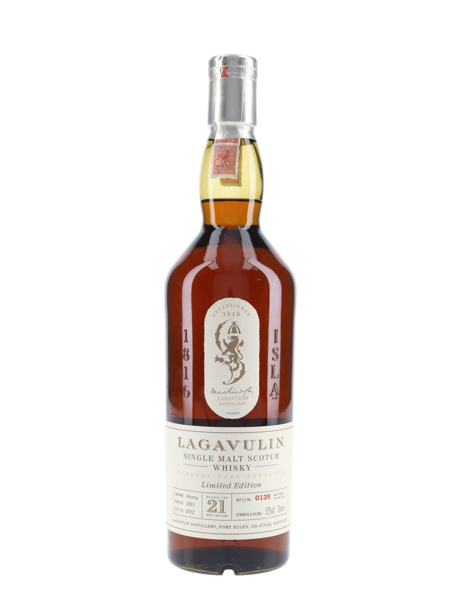 Lagavulin 1991 21 Year Old Special Releases 2012 70cl / 52%