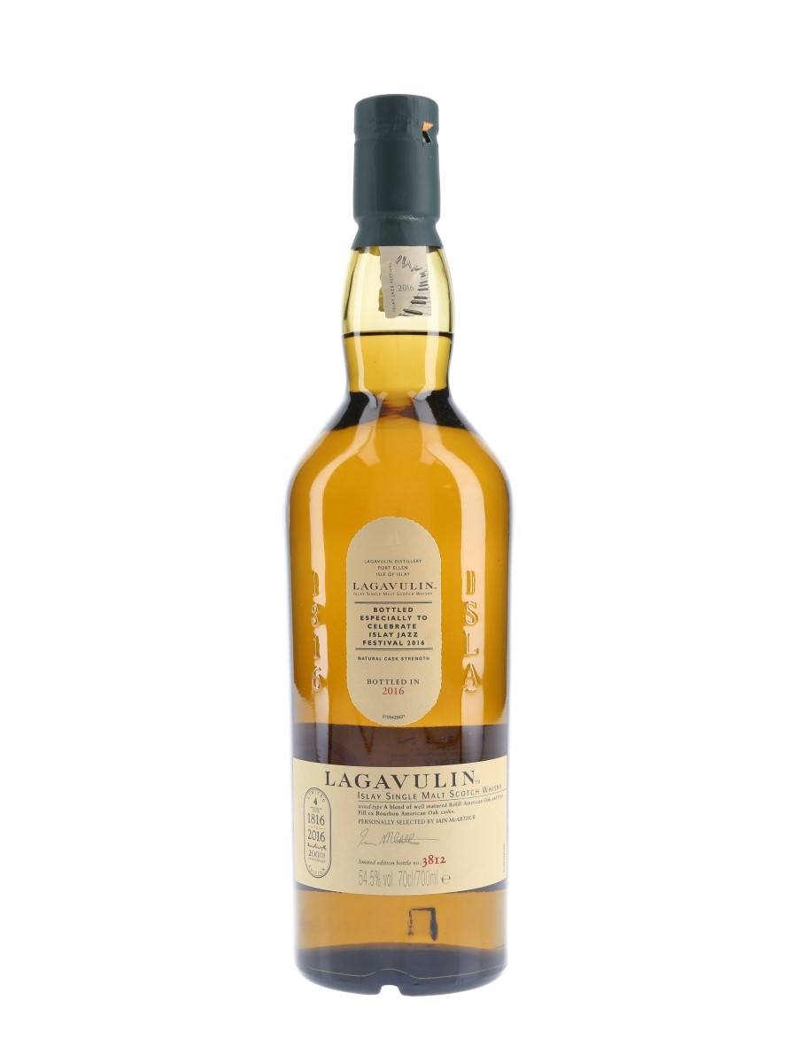 Lagavulin Islay Jazz Festival 2016 200th Anniversary 70cl / 54.5%