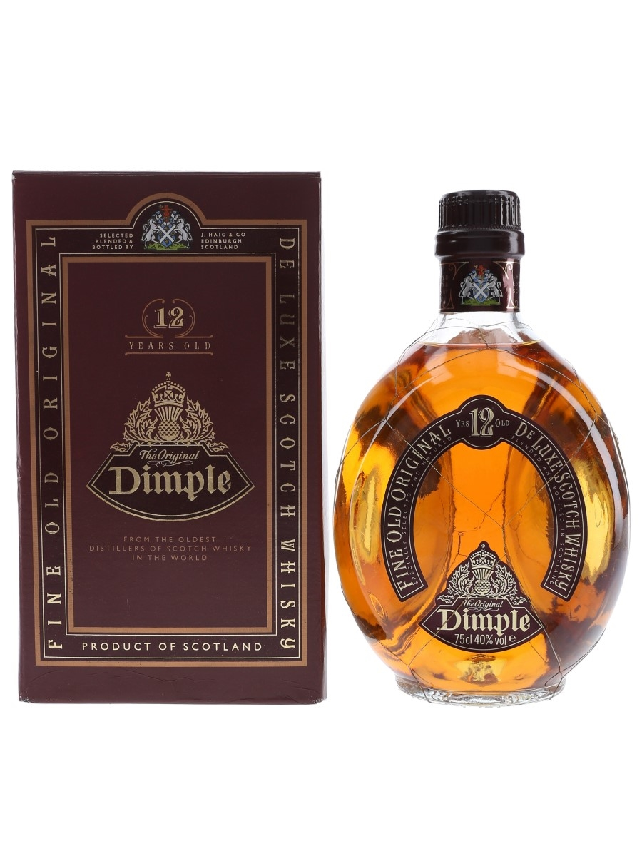 Haig's Dimple 12 Year Old Bottled 1980s - Spain 75cl / 40%