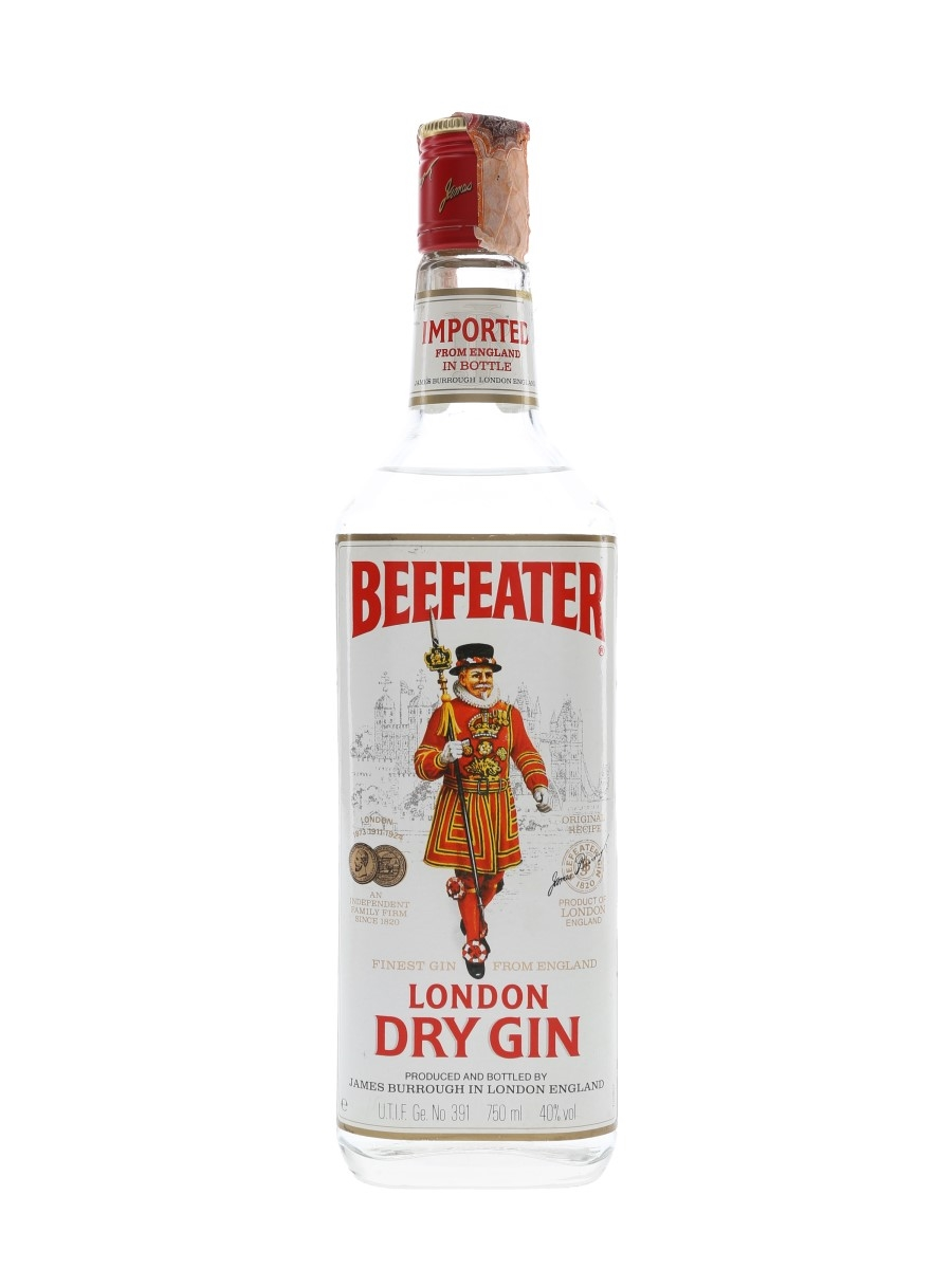 Beefeater London Dry Gin Bottled 1980s - Spirit 75cl / 40%