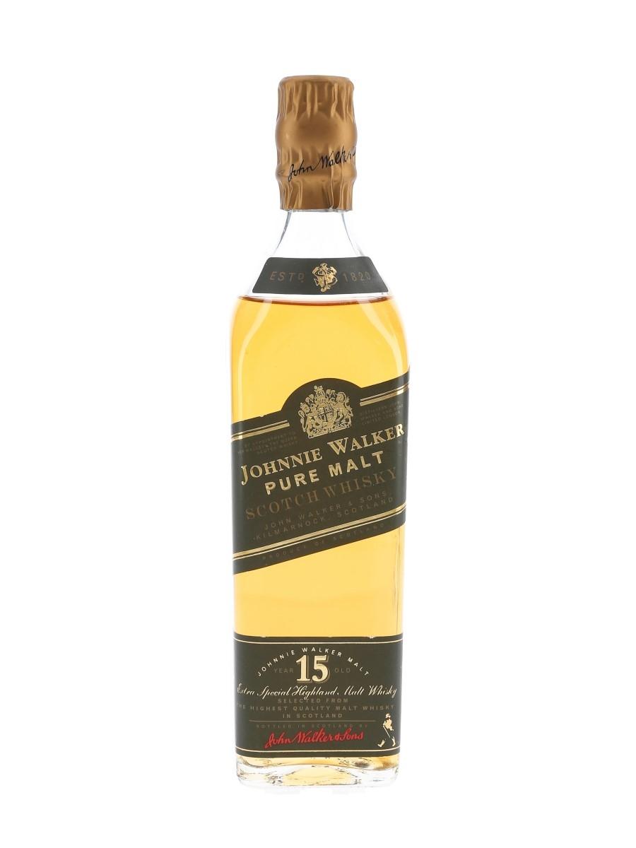 Johnnie Walker Pure Malt 15 Year Old  20cl / 43%