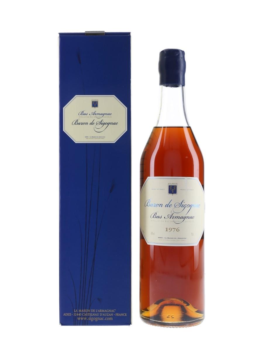 Baron De Sigognac 1976 Bas Armagnac Bottled 2006 70cl / 40%