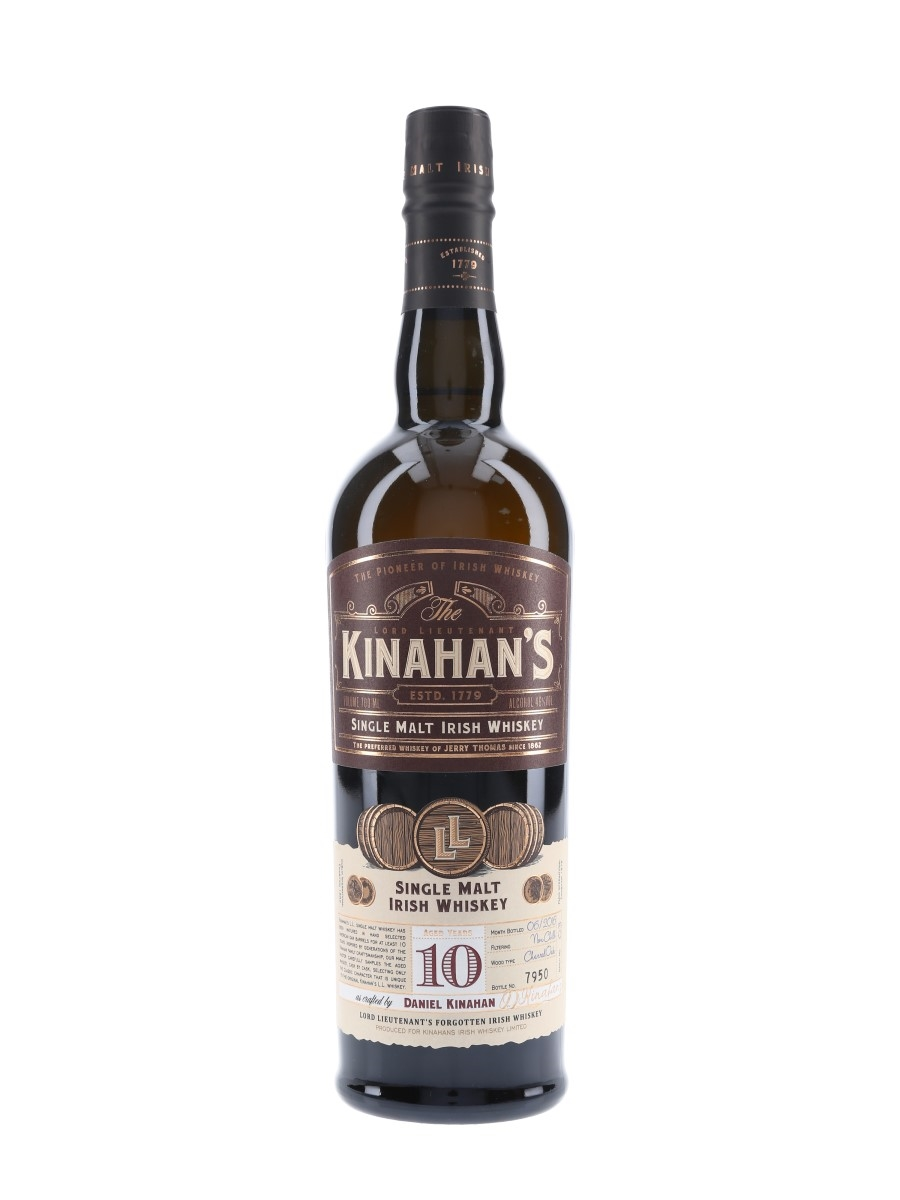 Kinahan's 10 Year Old Bottled 2016 70cl / 46%