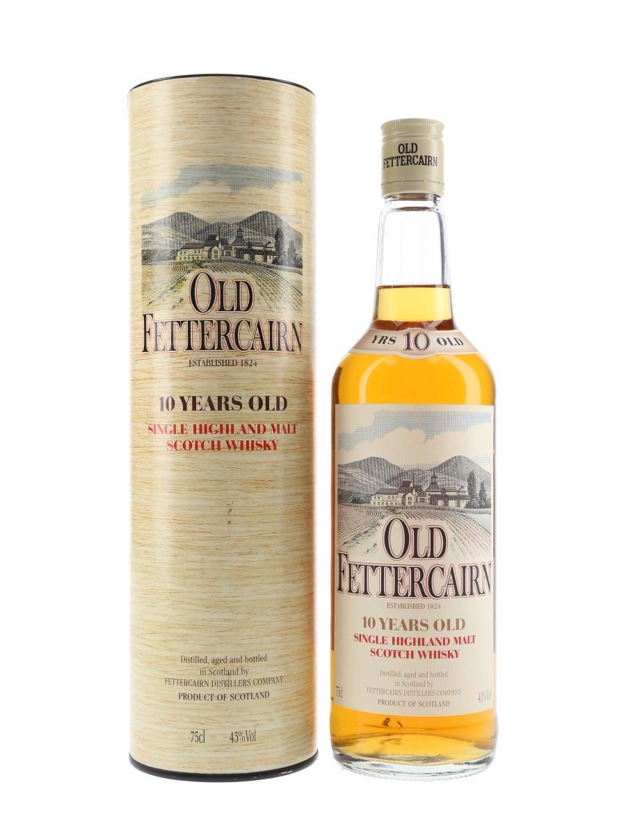 Old Fettercairn 10 Year Old Bottled 1980s 75cl / 43%