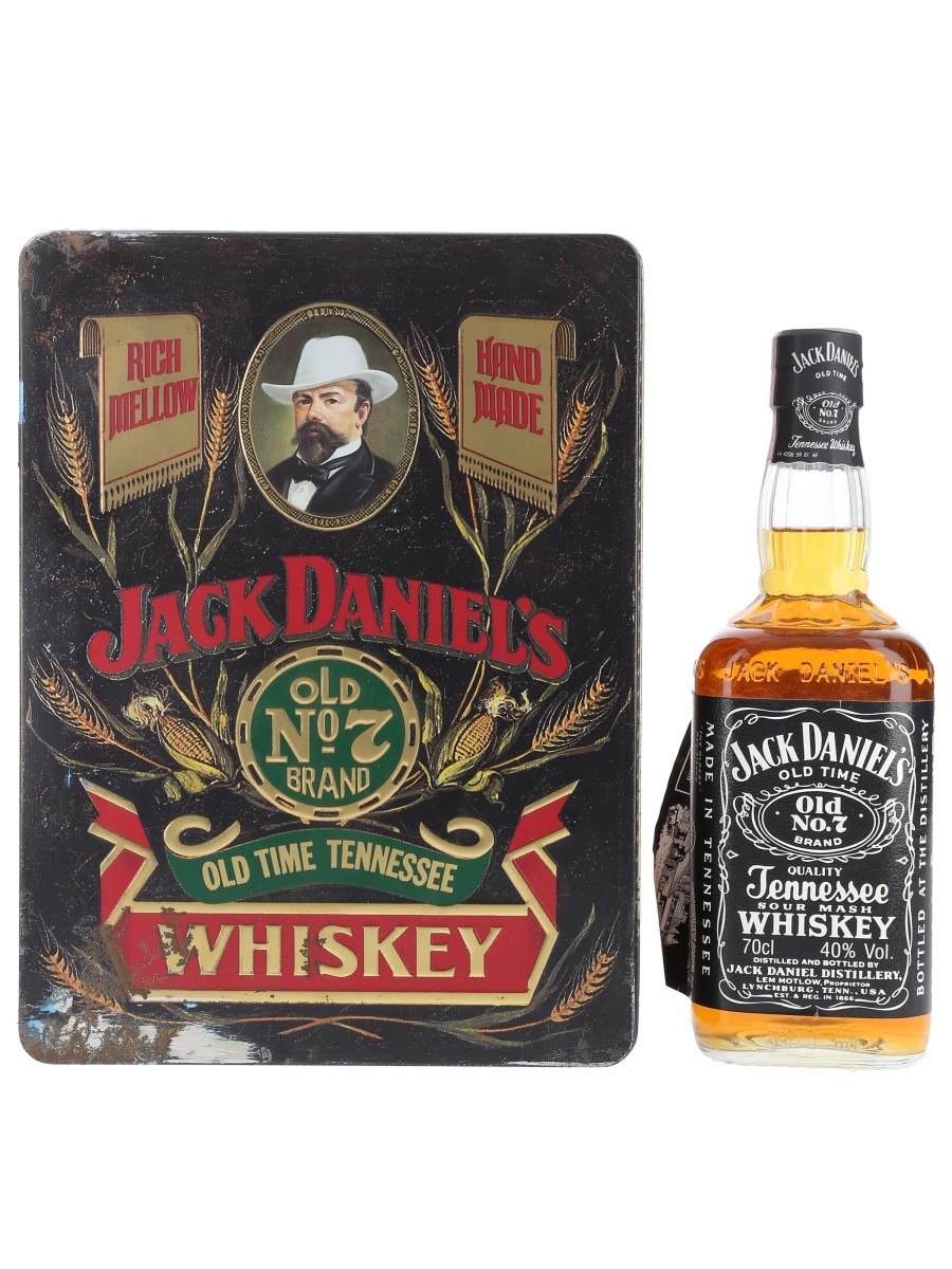 Jack Daniel's Old No.7 Old Time Tennessee Whiskey Bottled 1990s 70cl / 40%