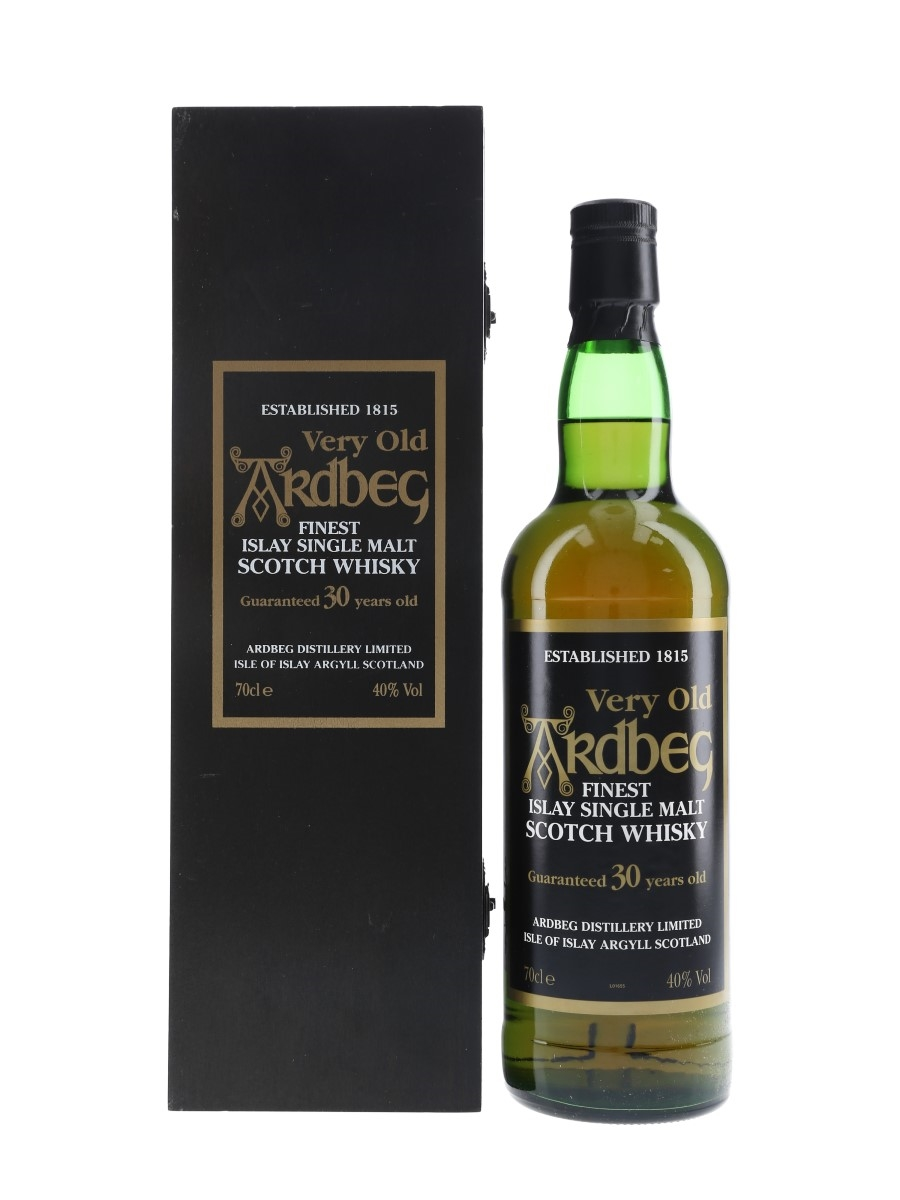 Ardbeg 30 Year Old Bottled 1990s 70cl / 40%