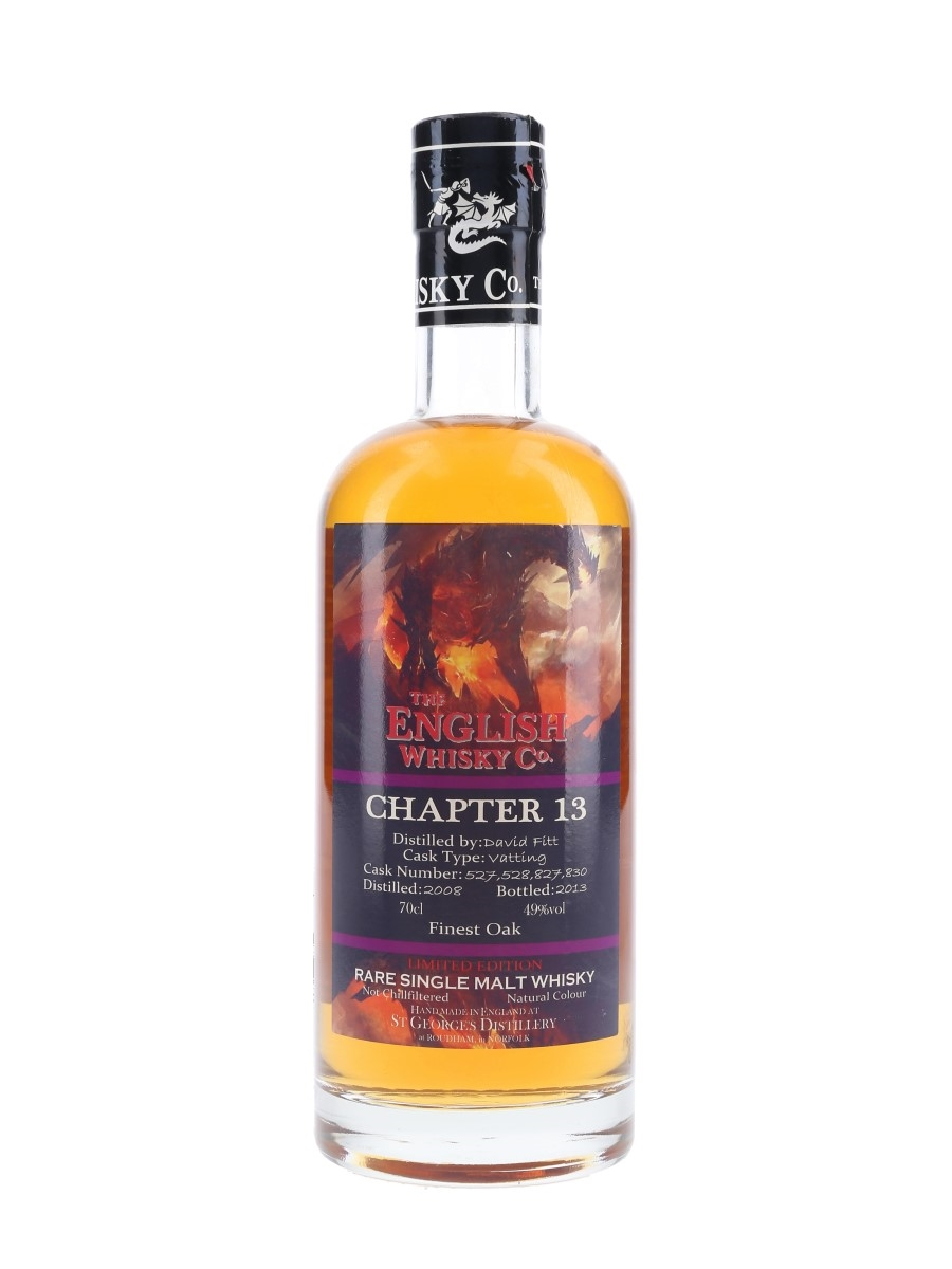 The English Whisky Co. 2008 Chapter 13 Bottled 2013 70cl / 49%