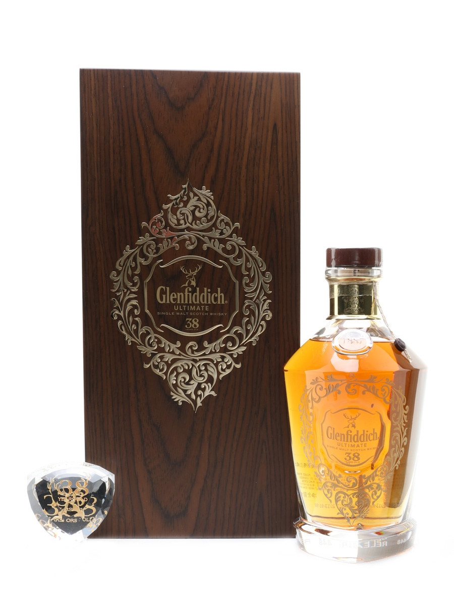 Glenfiddich Ultimate 38 Year Old Bottled 2013 - China Exclusive 70cl / 40%
