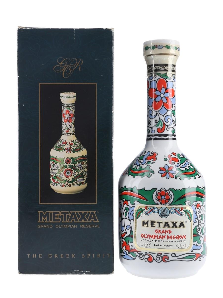 Metaxa Grand Olympian Reserve Bottled 1980s-1990s - Duty Free 70cl / 40%