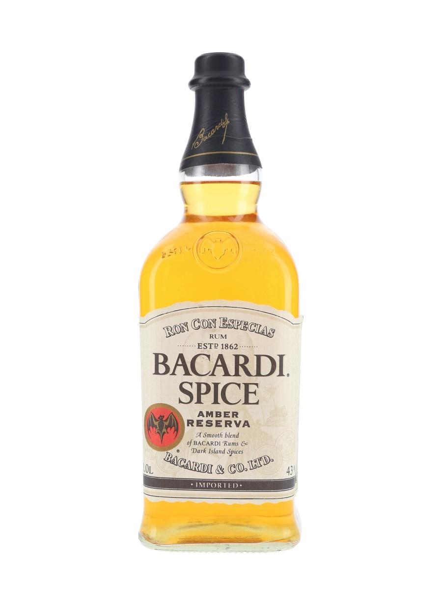 Bacardi Spice Amber Reserva  100cl / 43%
