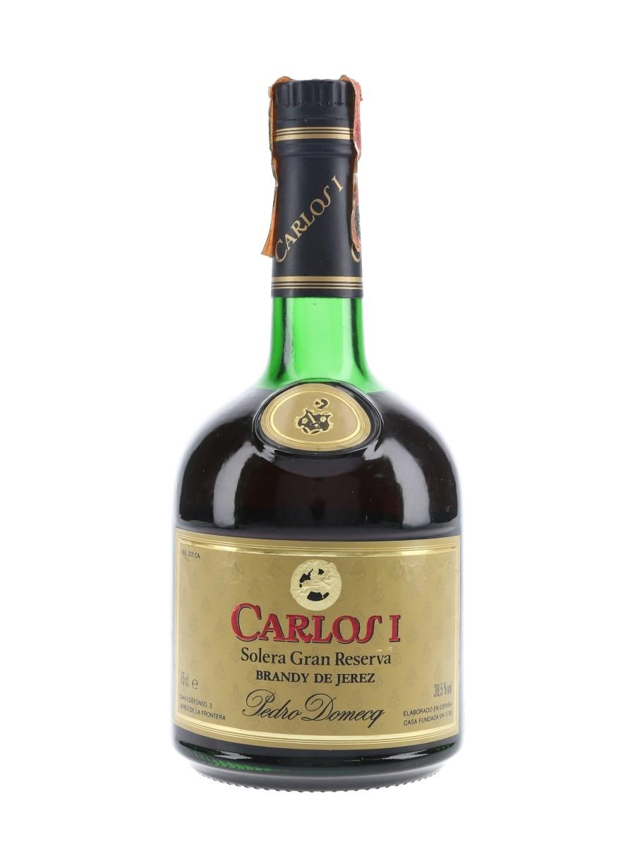 Carlos I Solera Gran Reserva Bottled 1980s - Pedro Domecq 75cl / 38.5%
