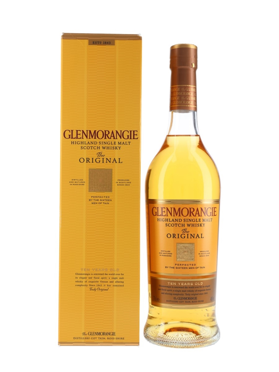 Glenmorangie 10 Year Old The Original  70cl / 40%