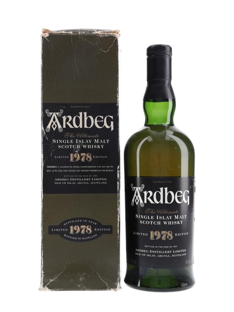 Ardbeg 1978 Limited Edition Bottled 1997 70cl / 43%