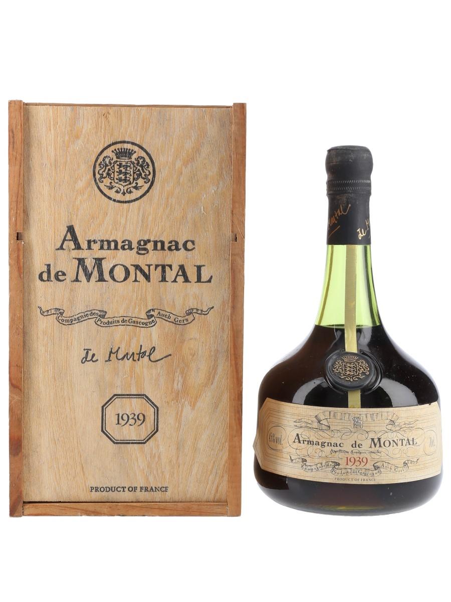 Montal 1939 Armagnac  70cl / 45%