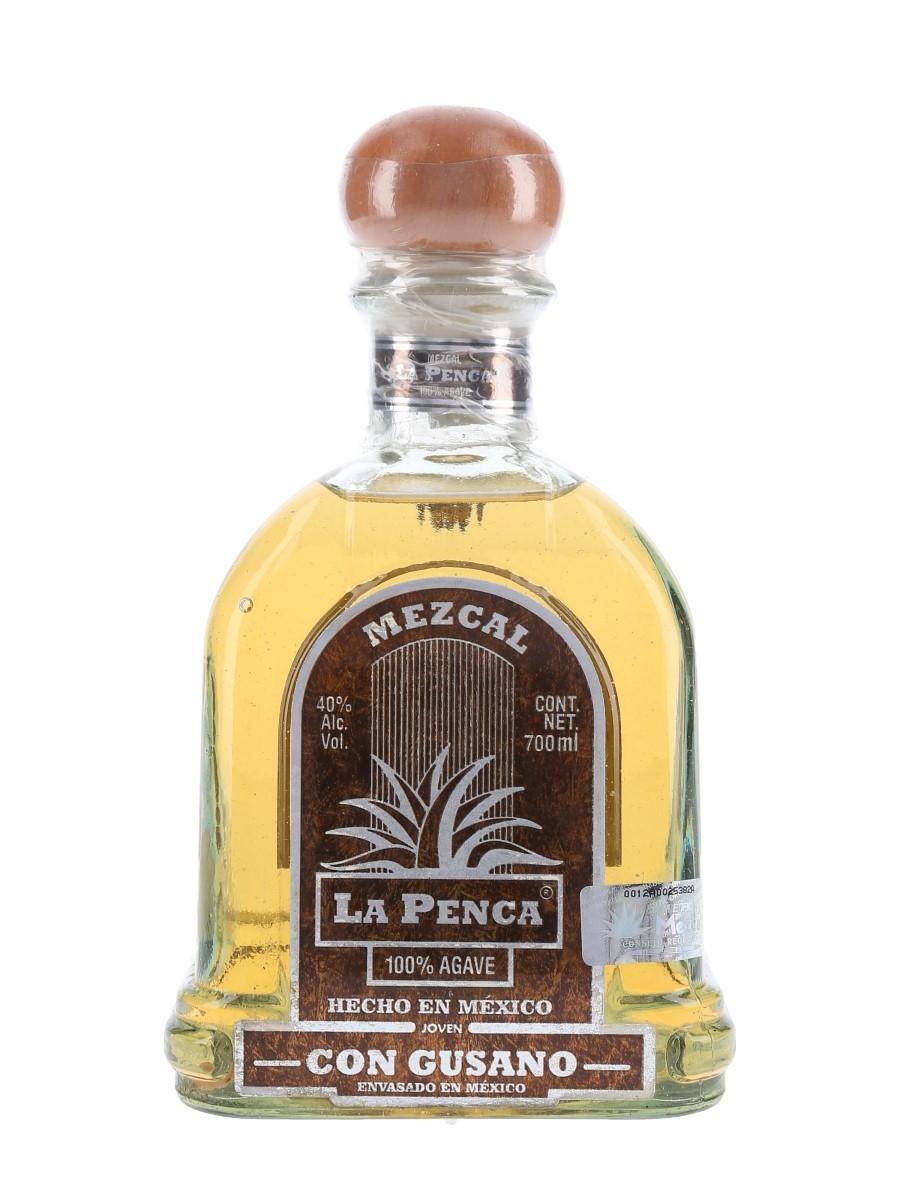 Mezcal La Penca Con Gusano  70cl / 40%