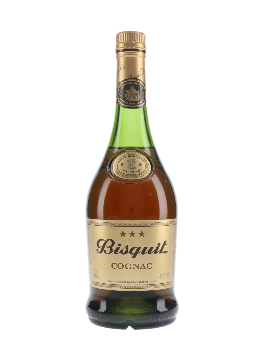 Bisquit 3 Star Bottled 1980s 68.5cl / 40%