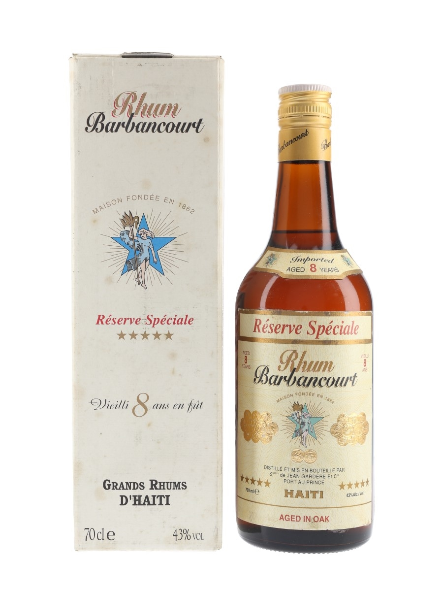 Barbancourt 5 Star 8 Year Old  70cl / 43%