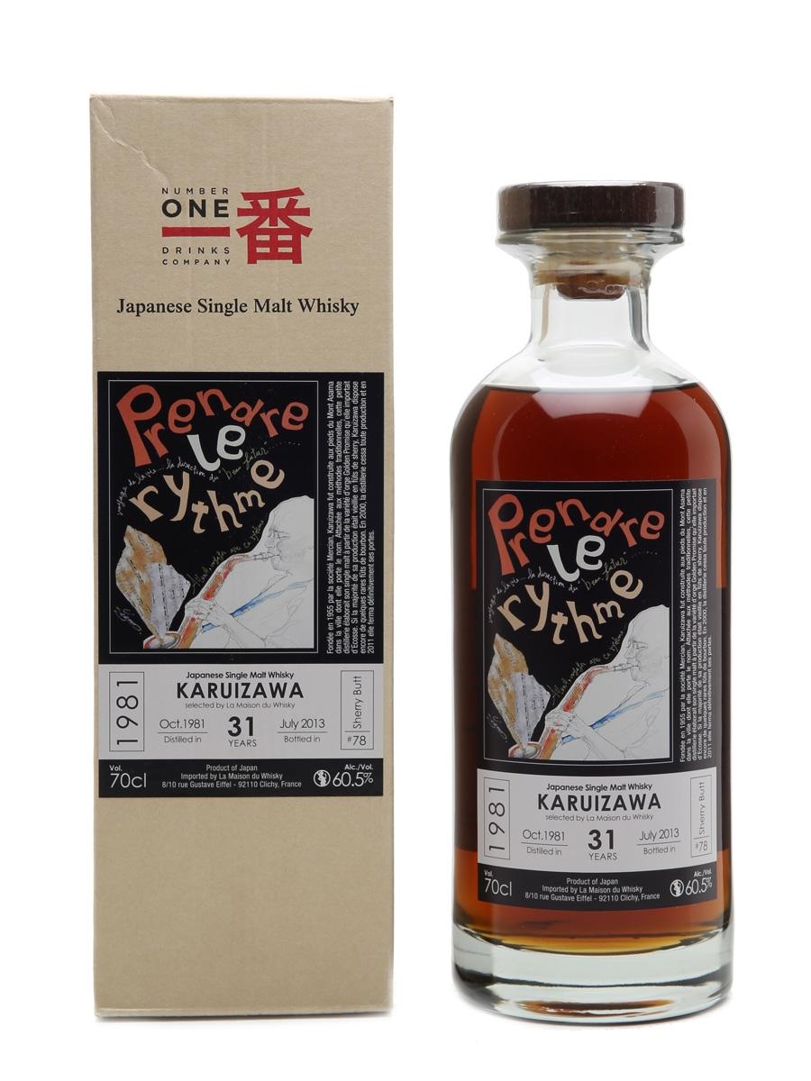 Karuizawa 1981 Cask #78 Prendre Le Rhythme LMdW 70cl / 60.5%