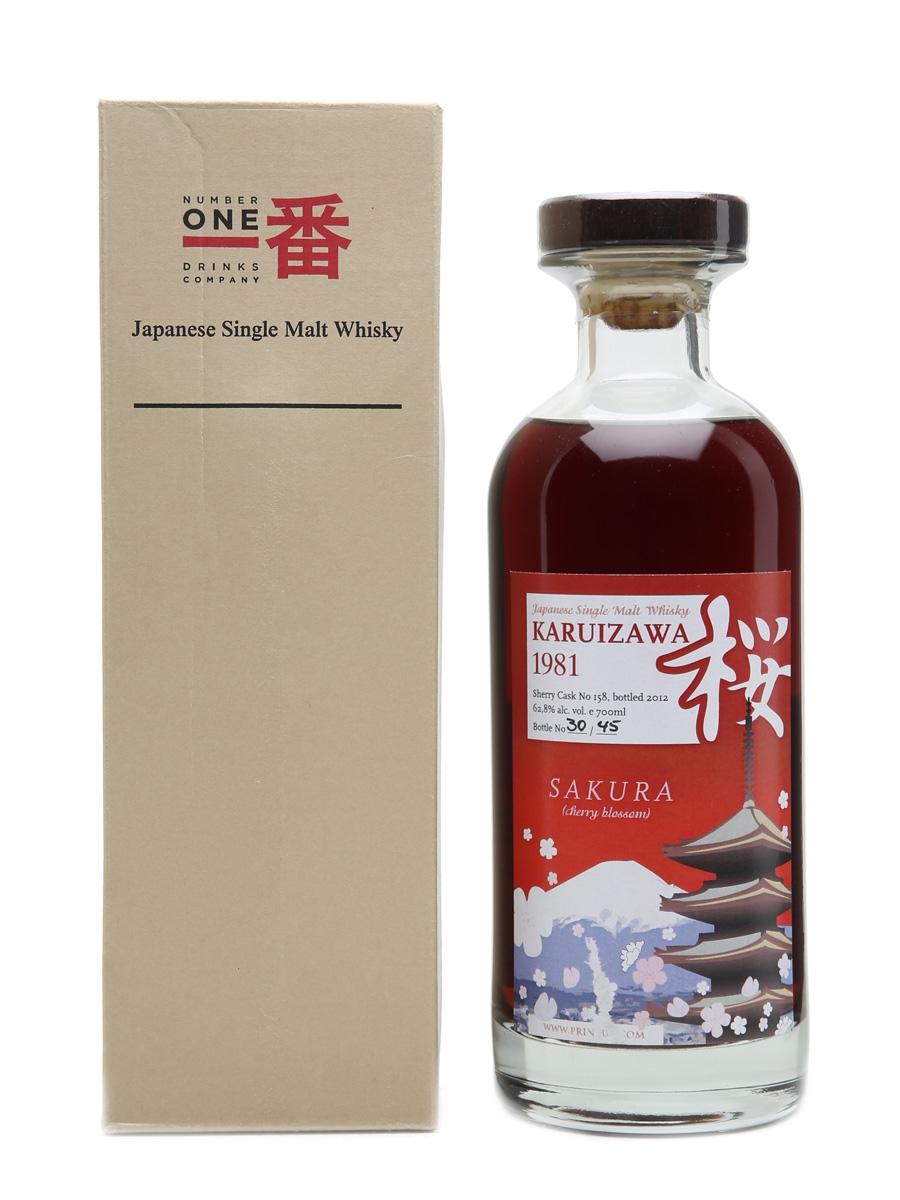Karuizawa 1981 Sakura #158 45 Bottles 70cl / 62.8%