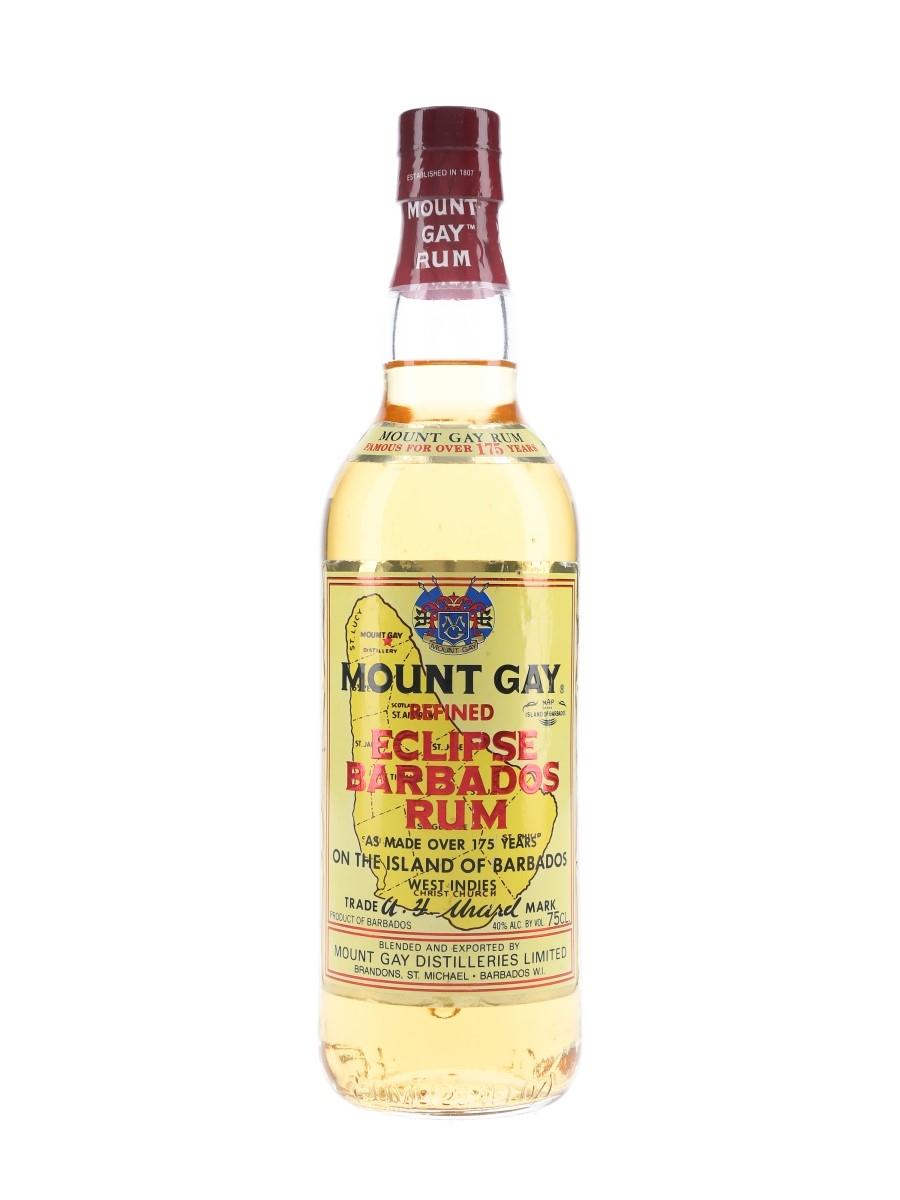 Mount Gay Eclipse Bottled 1980s 75cl / 40%