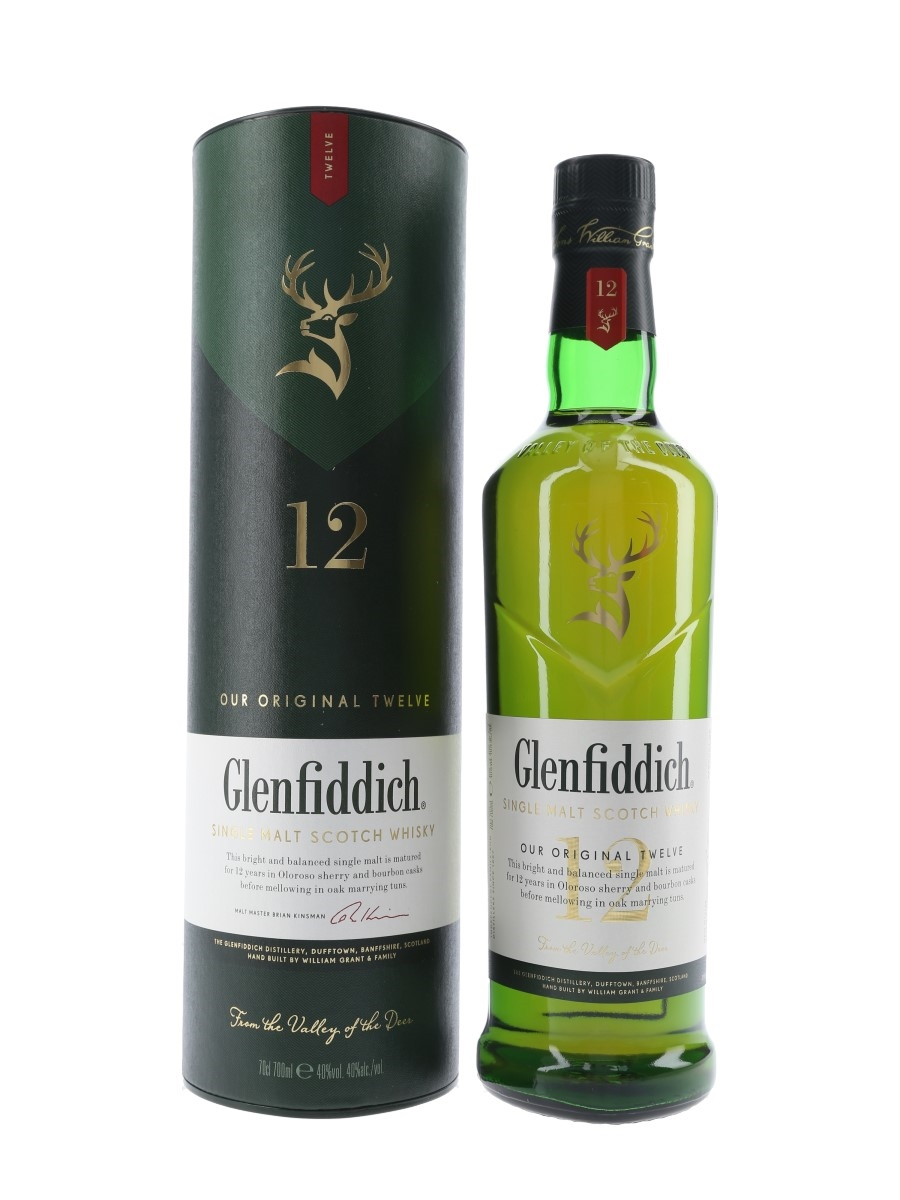 Glenfiddich 12 Year Old  70cl / 40%