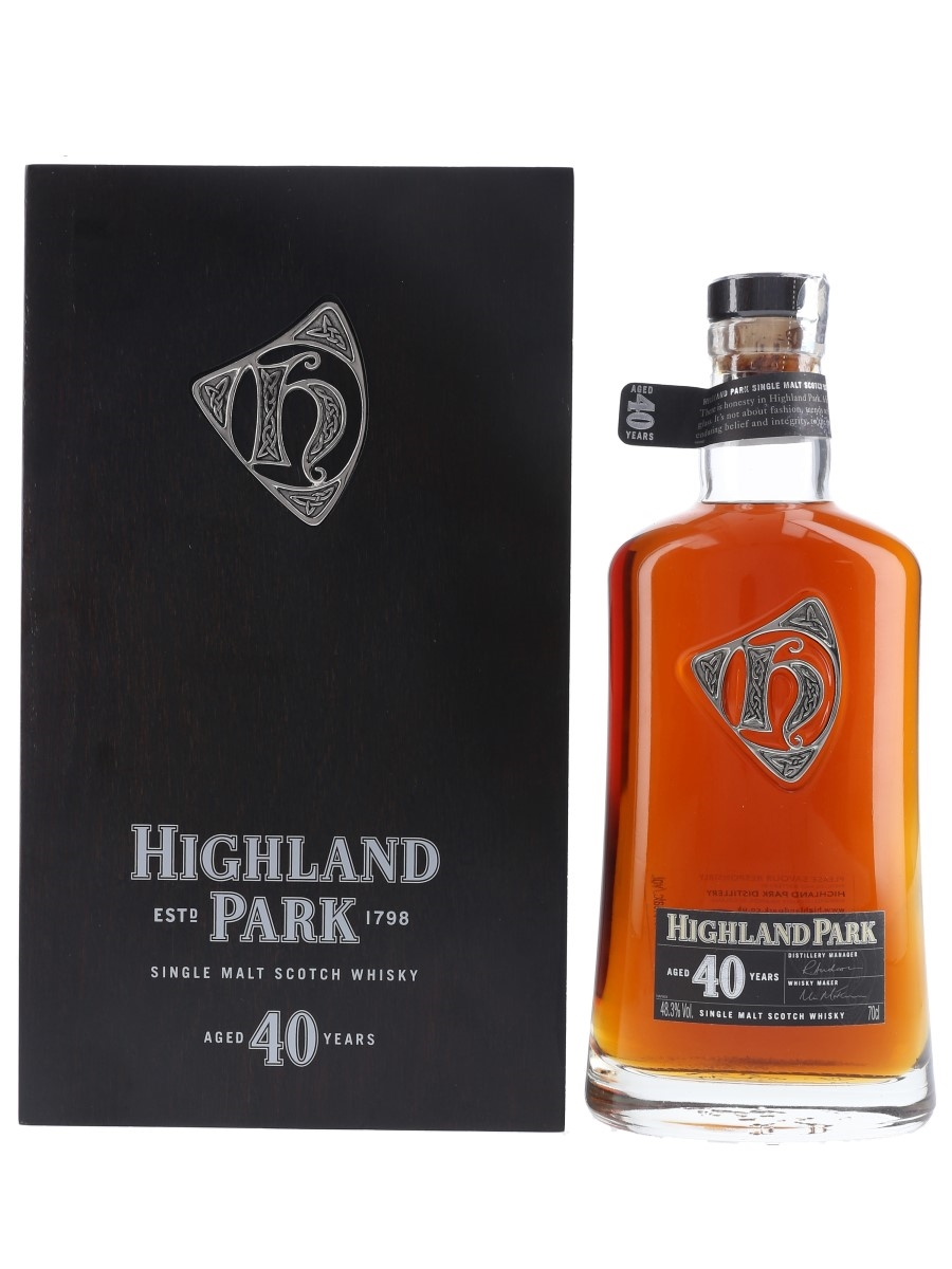 Highland Park 40 Year Old  70cl / 48.3%