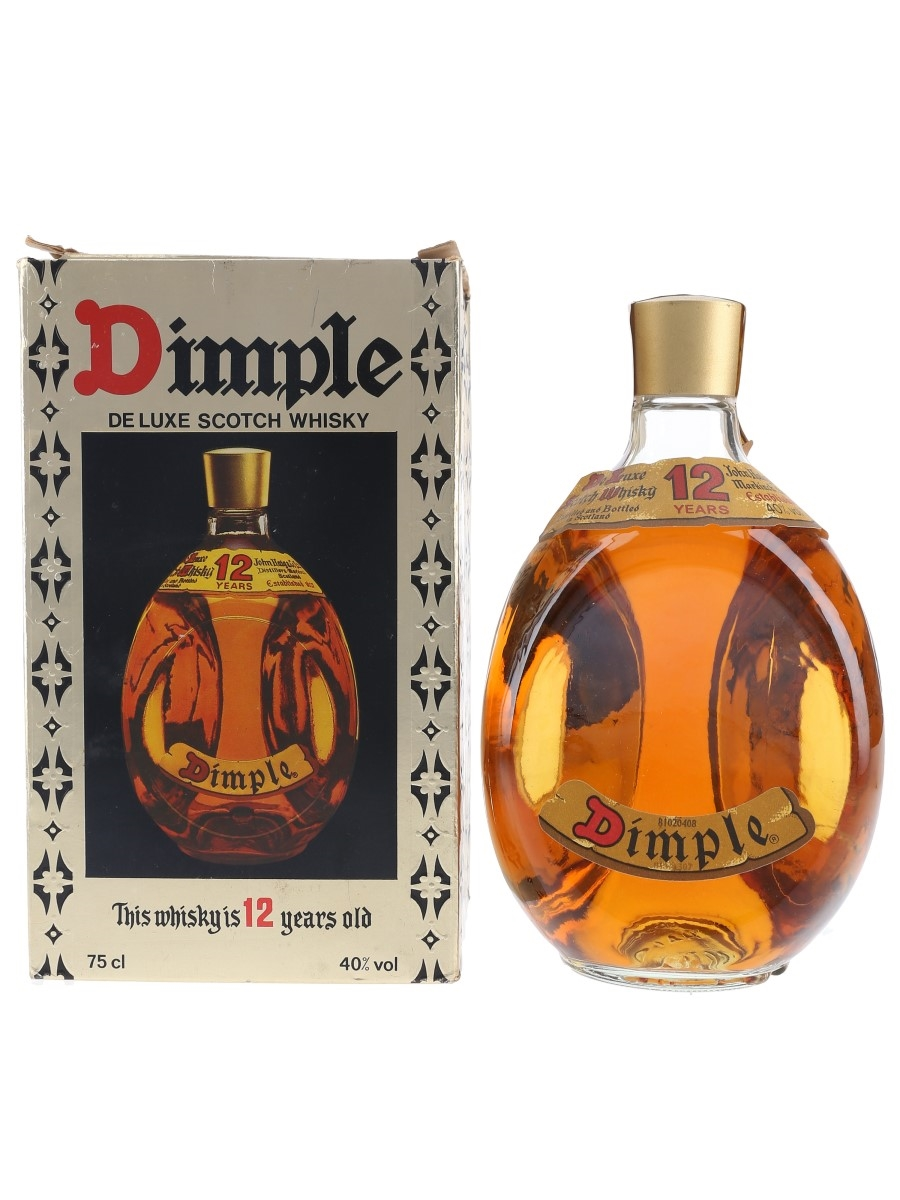Haig's Dimple 12 Year Old Bottled 1980s 75cl / 40%