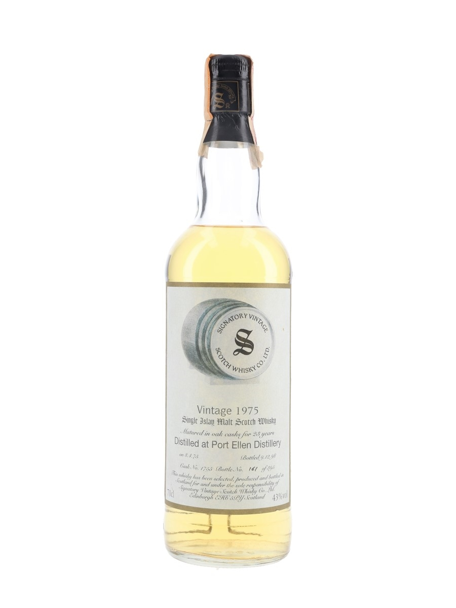 Port Ellen 1975 23 Year Old Bottled 1998 - Velier 70cl / 43%