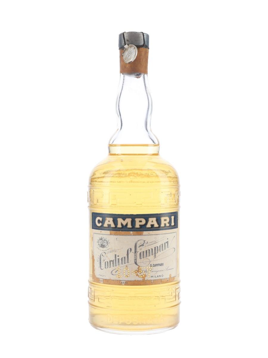 Campari Cordial Bottled 1950s 75cl