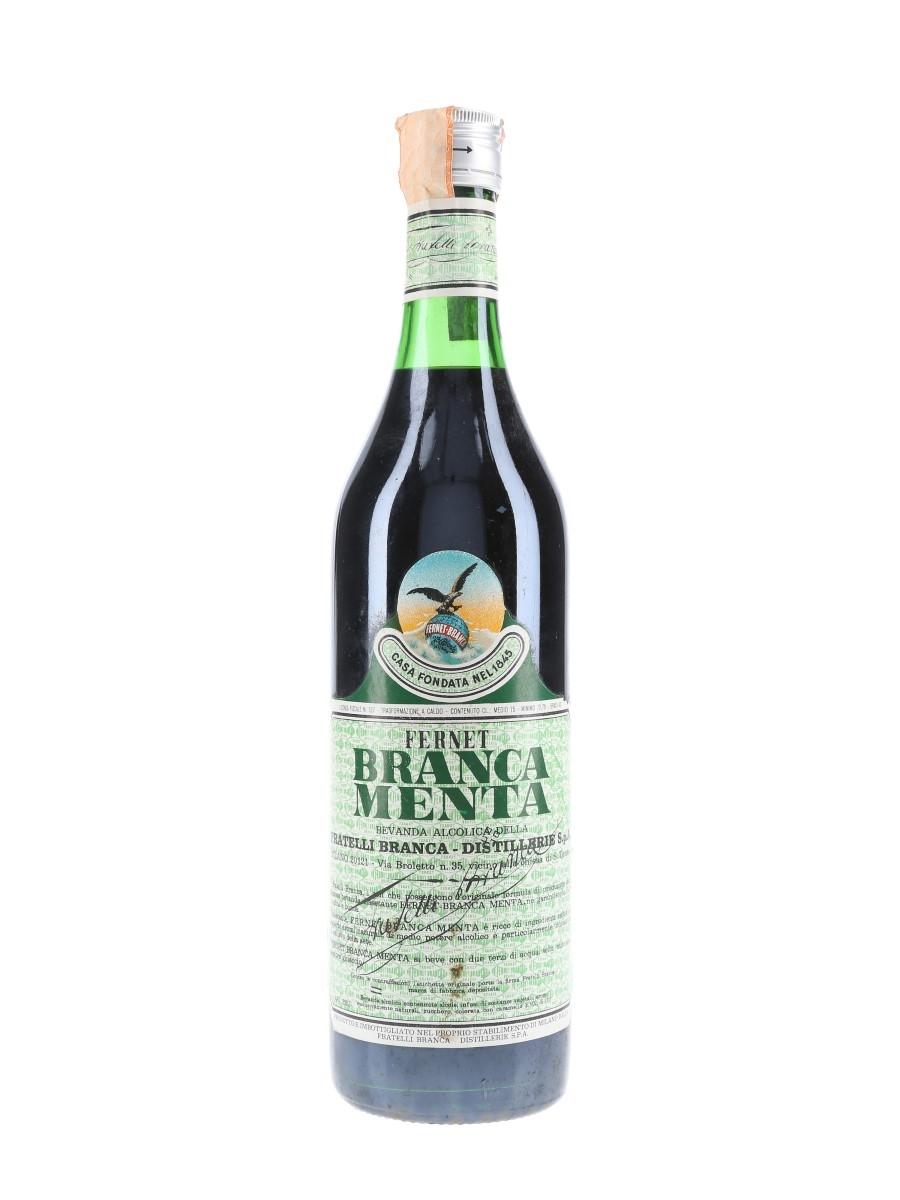 Fernet Branca Menta Bottled 1972 75cl / 40%