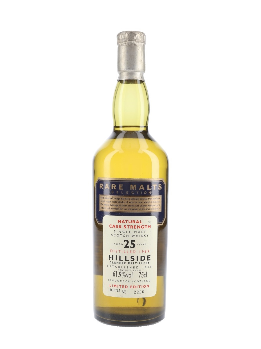 Hillside 1969 25 Year Old Rare Malts Selection 75cl / 61.9%