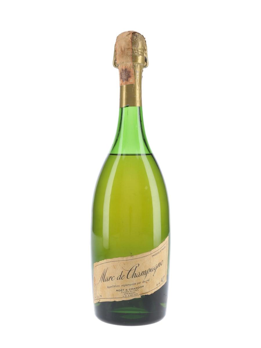 Moet & Chandon Marc De Champagne Bottled 1960s-1970s - Claretta 75cl / 42%
