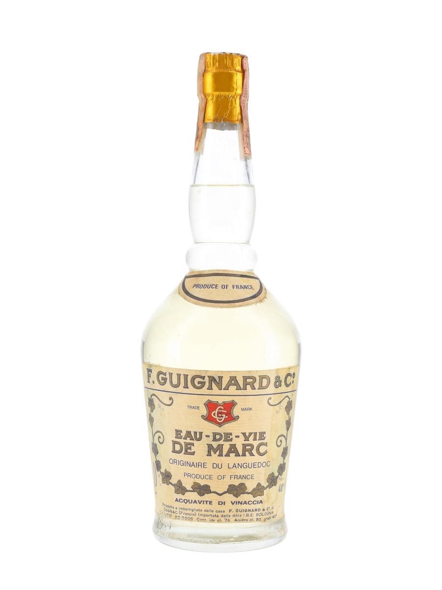 Guignard Eau De Vie De Marc Bottled 1960s-1970s - IBE 75cl / 40%