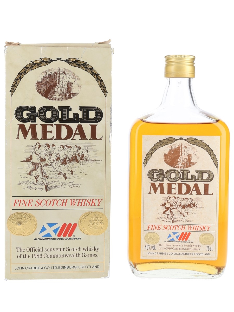 John Crabbie & Co. Gold Medal Commonwealth Games 1986 75cl / 40%